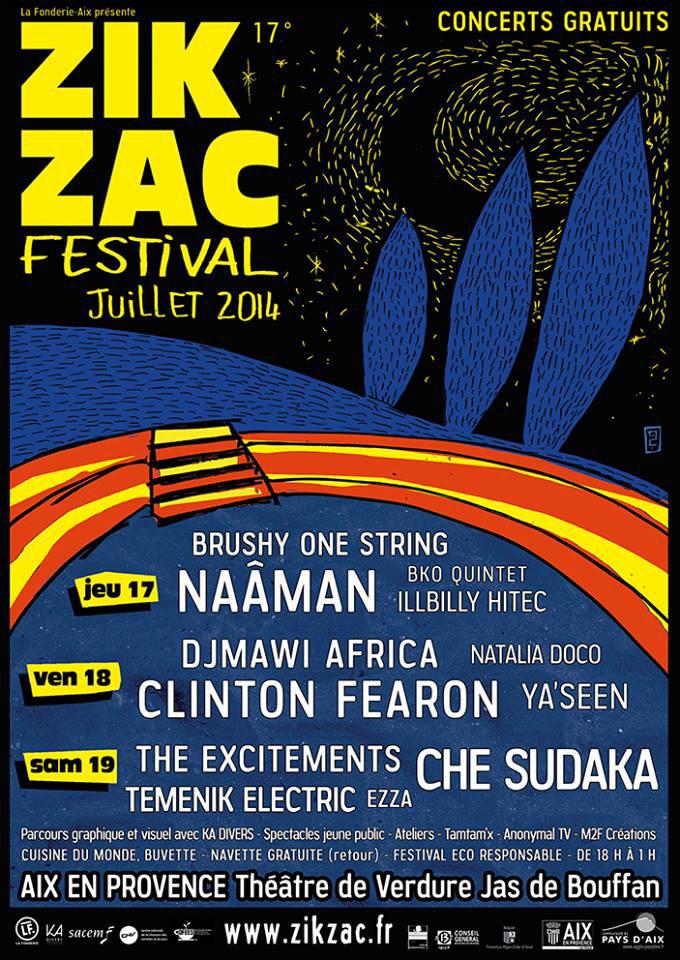 affiche-Zik-Zac-festival-2014